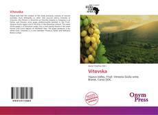 Bookcover of Vitovska