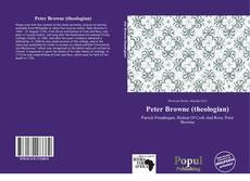 Bookcover of Peter Browne (theologian)