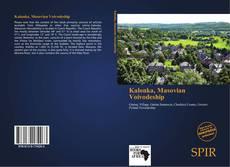 Portada del libro de Kalonka, Masovian Voivodeship