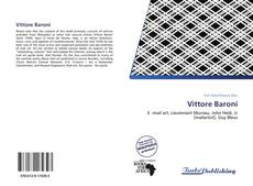 Bookcover of Vittore Baroni