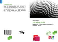 Vittorio Crivelli kitap kapağı