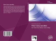 Bookcover of Peter Carey (novelist)