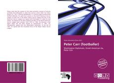 Bookcover of Peter Carr (footballer)