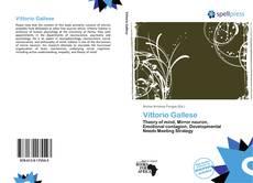 Vittorio Gallese kitap kapağı