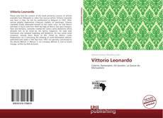 Portada del libro de Vittorio Leonardo