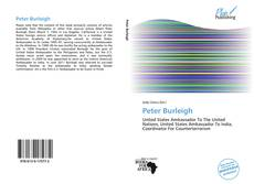 Bookcover of Peter Burleigh