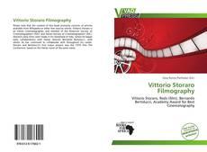 Vittorio Storaro Filmography kitap kapağı