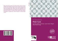 Bookcover of Peter Care