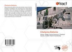 Couverture de Chotynia-Kolonia