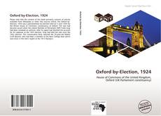 Bookcover of Oxford by-Election, 1924