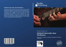 Bookcover of Oxford University Jazz Orchestra