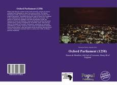 Capa do livro de Oxford Parliament (1258)