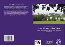 Capa do livro de Oxford Preservation Trust