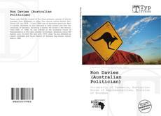 Ron Davies (Australian Politician) kitap kapağı