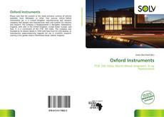 Capa do livro de Oxford Instruments