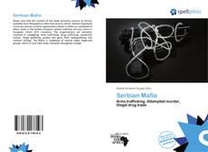 Bookcover of Serbian Mafia