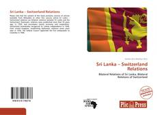 Bookcover of Sri Lanka – Switzerland Relations