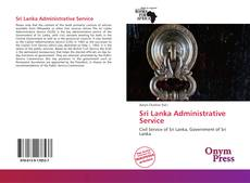 Bookcover of Sri Lanka Administrative Service