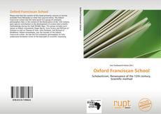 Обложка Oxford Franciscan School