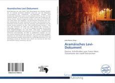 Aramäisches Levi-Dokument kitap kapağı
