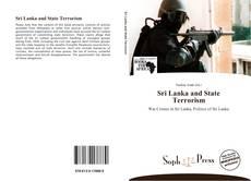 Bookcover of Sri Lanka and State Terrorism