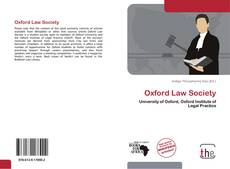 Обложка Oxford Law Society