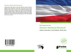 Bookcover of Serbian National Renewal