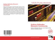 Bookcover of Serbian Orthodox Monastic Community