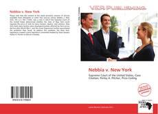 Portada del libro de Nebbia v. New York