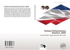 Capa do livro de Serbian Parliamentary Election, 2003