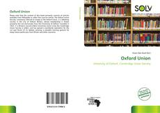 Bookcover of Oxford Union