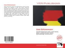 Capa do livro de Uwe Schünemann