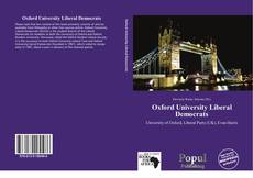 Обложка Oxford University Liberal Democrats