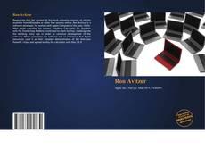 Ron Avitzur kitap kapağı