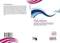 Vitaliy Rahimov kitap kapağı