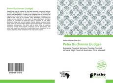 Copertina di Peter Buchanan (Judge)