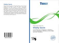 Vitaliy Savin kitap kapağı