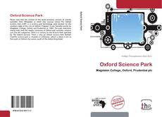 Bookcover of Oxford Science Park