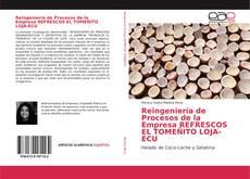 Portada del libro de Reingeniería de Procesos de la Empresa REFRESCOS EL TOMEÑITO LOJA-ECU
