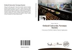 Oxford University Newman Society的封面