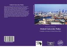 Oxford University Police kitap kapağı