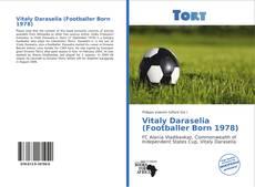 Capa do livro de Vitaly Daraselia (Footballer Born 1978)