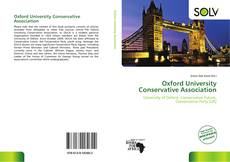 Bookcover of Oxford University Conservative Association