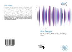 Обложка Ron Borges