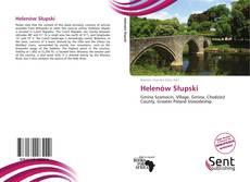 Portada del libro de Helenów Słupski