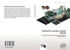Обложка Oxford to London Coach Route