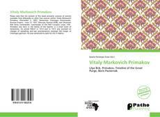 Vitaly Markovich Primakov的封面