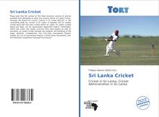 Bookcover of Sri Lanka Cricket