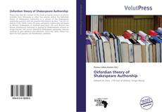 Capa do livro de Oxfordian theory of Shakespeare Authorship