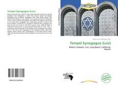 Capa do livro de Tempel Synagogue (Lviv)